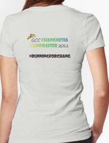 Changnesia Fundraiser 2011 Womens Fitted T-Shirt
