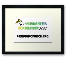 Changnesia Fundraiser 2011 Framed Print