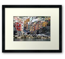 All About Italy. Piece 8 - Riomaggiore Framed Print