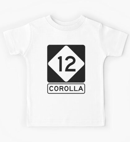 NC 12 - Corolla  Kids Tee