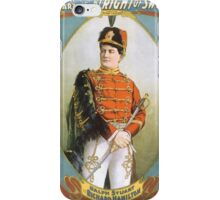 Performing Arts Posters Ralph Stuart in his great success By right of sword 0032 iPhone Case/Skin
