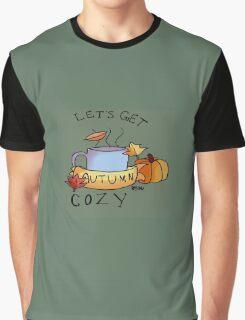 Let's Get Cozy Graphic T-Shirt