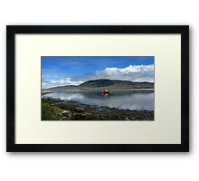 Achill Lifeboat Framed Print