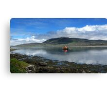 Achill Lifeboat Canvas Print