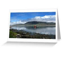 Achill Lifeboat Greeting Card