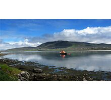 Achill Lifeboat Photographic Print