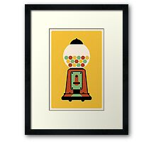 Gumball Machine Framed Print