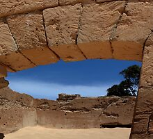 A little bit of Australian History Disappearing under the sand by myraj