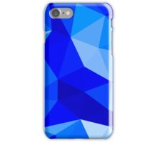 Blue Polygons iPhone Case/Skin
