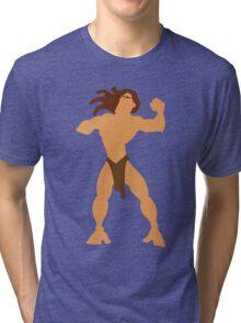 Tarzan Illustration Tri-blend T-Shirt