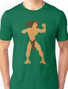 Tarzan Illustration Unisex T-Shirt