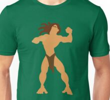 Tarzan Illustration Unisex T-Shirt