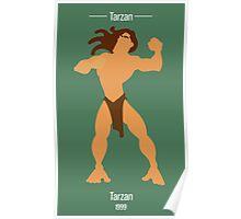 Tarzan Illustration Poster