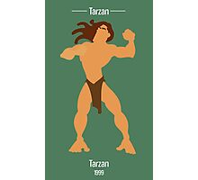 Tarzan Illustration Photographic Print