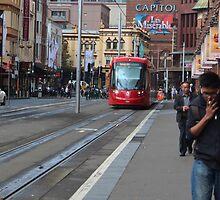 Sydney Lightrail by myraj