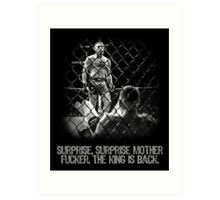 McGregor - Surprise Surprise - UFC202 Art Print