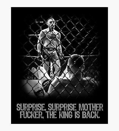 McGregor - Surprise Surprise - UFC202 Photographic Print