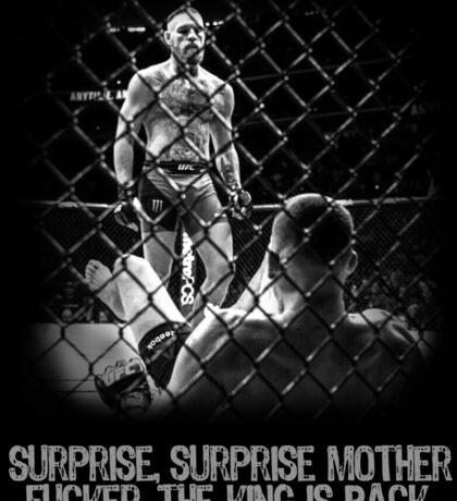 McGregor - Surprise Surprise - UFC202 Sticker