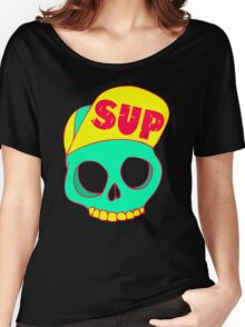 Sup Hat Women's Relaxed Fit T-Shirt