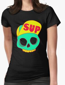 Sup Hat Womens Fitted T-Shirt
