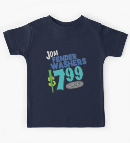 The shopping list - fender washers Kids Tee