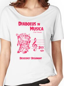 The Devil in Music Women's Relaxed Fit T-Shirt