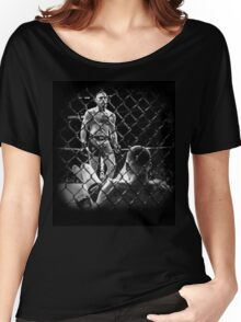 McGregor V Nate Diaz UFC202 Women's Relaxed Fit T-Shirt