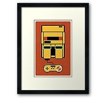 Classic Console Framed Print