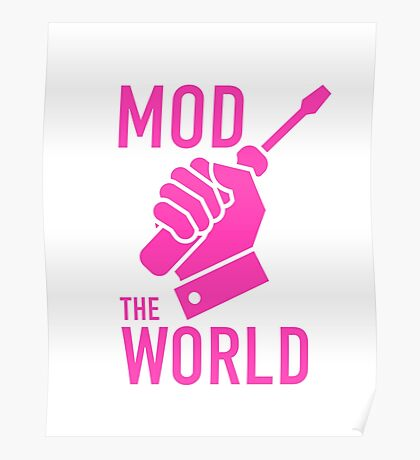mod the world Poster
