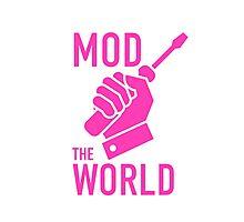 mod the world Photographic Print