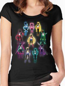 Sailor Senshi Women's Fitted Scoop T-Shirt