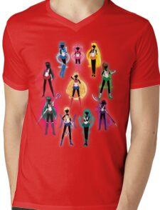 Sailor Senshi Mens V-Neck T-Shirt