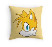 Tails headshot Throw Pillow