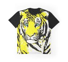 TIGER-3 (LARGE) YELLOW Graphic T-Shirt
