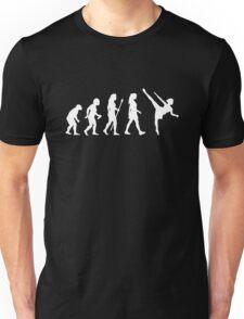 Funny Ballet Evolution Silhouette Unisex T-Shirt