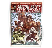 Team Fortress 2 Comics Saxton Hale Mail Storm Poster  Poster