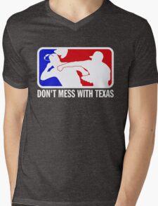 dont make me odor you dont mess with texas Mens V-Neck T-Shirt