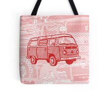 Red Bay Campervan Dub-U (please see description) Tote Bag