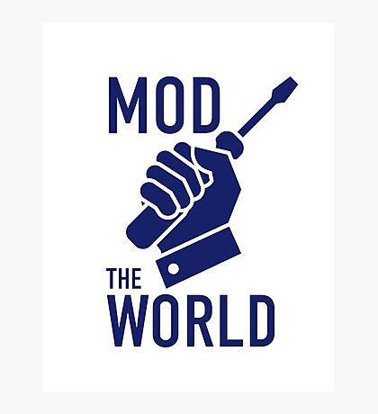 Mod The World Photographic Print