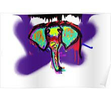 Elephant are Melty Poster