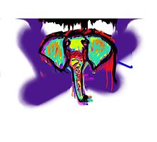 Elephant are Melty Photographic Print