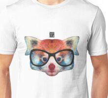 Red Panda Hipster Unisex T-Shirt