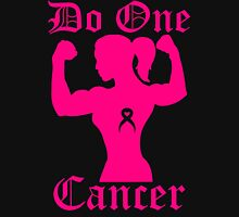 Do One Cancer Lady Womens Fitted T-Shirt
