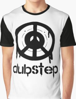 Dubstep Peace Symbol Rap Hip Hop Graphic T-Shirt