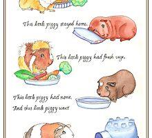 This Little Piggy by unicornucopiae