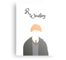 Ron Weasley Prints and Cases Canvas Print