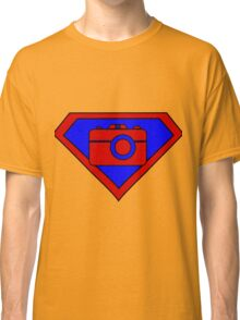 Hero, Heroine, Superhero, Super Photographer Classic T-Shirt