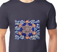 Metatron's Cube in the Clouds Unisex T-Shirt