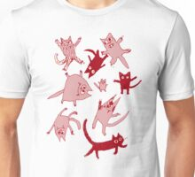 levitating kitties Unisex T-Shirt