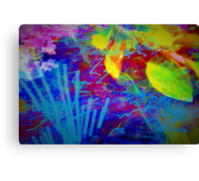 Secret flower party Canvas Print